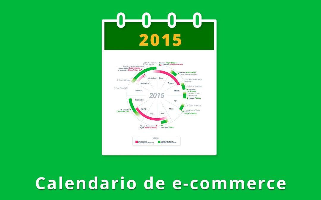 Calendário 2015 para eventos comerciais